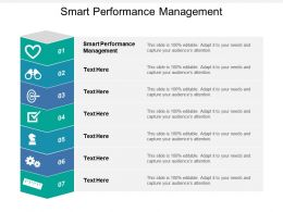 Smart Performance Management Ppt Powerpoint Presentation Layouts Portfolio Cpb