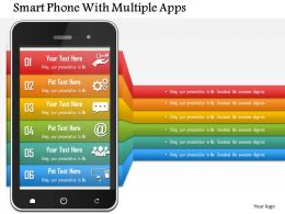 smart_phone_with_multiple_apps_powerpoint_template_Slide01