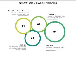 Smart Sales Goals Examples Ppt Powerpoint Presentation Outline Background Designs Cpb