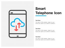 Smart Telephone Icon