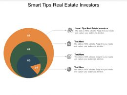 Smart Tips Real Estate Investors Ppt Powerpoint Presentation Summary Show Cpb