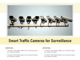 Smart Traffic Cameras For Surveillance
