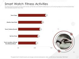 Smart Watch Fitness Activities Market Entry Strategy Gym Health Fitness Clubs Industry Ppt Topics