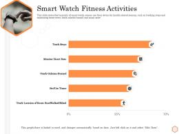 Smart Watch Fitness Activities Wellness Industry Overview Ppt Show Graphics