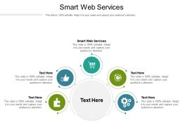 Smart Web Services Ppt Powerpoint Presentation Styles Slide Download Cpb
