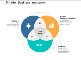 Smarter Business Innovation Ppt Powerpoint Presentation File Vector Cpb