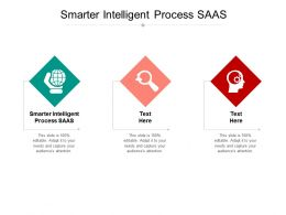 Smarter Intelligent Process SAAS Ppt Powerpoint Presentation Styles Inspiration Cpb