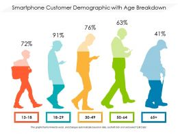 Smartphone Customer Demographic With Age Breakdown