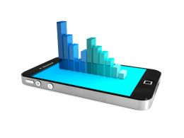 smartphone_with_bar_graph_isolated_on_white_background_stock_photo_Slide01