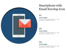 Smartphone With Email Envelop Icon