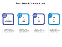 Smcr Model Communication Ppt Powerpoint Presentation Portfolio Topics Cpb