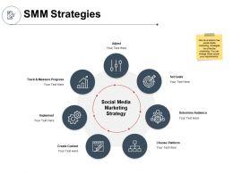 SMM Strategies Implement Ppt Powerpoint Presentation Icon Portfolio