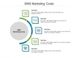 Sms Marketing Costs Ppt Powerpoint Presentation Infographics Maker Cpb
