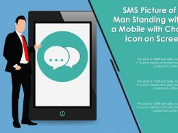 sms_picture_of_a_man_standing_with_a_mobile_with_chat_icon_on_screen_Slide01