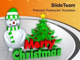 snowman_with_christmas_tree_abstract_powerpoint_templates_ppt_themes_and_graphics_0113_Slide01