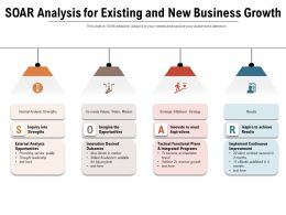 Soar Analysis For Existing And New Business Growth