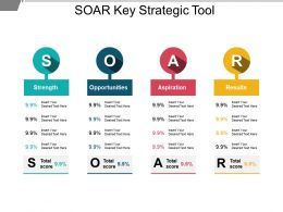 Soar Key Strategic Tool Powerpoint Templates
