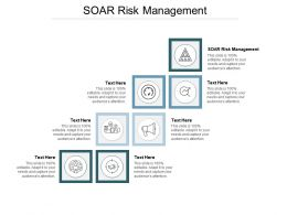 SOAR Risk Management Ppt Powerpoint Presentation Infographic Template Designs Cpb