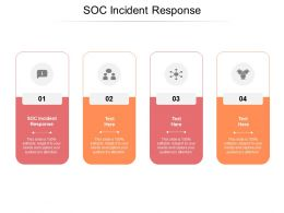 SOC Incident Response Ppt Powerpoint Presentation File Background Image Cpb
