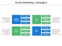 Social Advertising Campaigns Ppt Powerpoint Presentation Ideas Slide Cpb