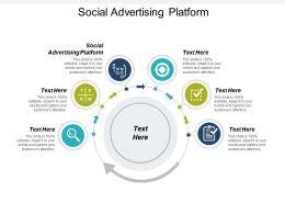 Social Advertising Platform Ppt Powerpoint Presentation Infographics Slide Download Cpb