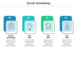 Social Advertising Ppt Powerpoint Presentation Ideas Designs Cpb