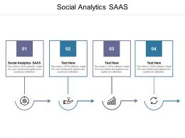 Social Analytics SAAS Ppt Powerpoint Presentation Ideas Shapes Cpb