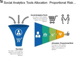 social analytics tools allocation proportional risk leadership development cpb
