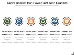 Social Benefits Icon Powerpoint Slide Graphics