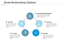 Social Bookmarking Systems Ppt Powerpoint Presentation Layouts Templates Cpb