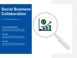 Social Business Collaboration Ppt Powerpoint Presentation Styles Ideas Cpb