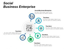 Social Business Enterprise Ppt Powerpoint Presentation Styles Infographic Template Cpb
