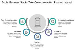 Social Business Stacks Take Corrective Action Planned Interval