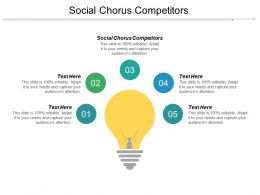 Social Chorus Competitors Ppt Powerpoint Presentation Icon Diagrams Cpb