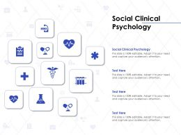 Social Clinical Psychology Ppt Powerpoint Presentation Layouts File Formats