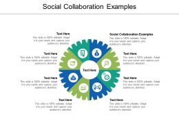 Social Collaboration Examples Ppt Powerpoint Presentation Icon Format Cpb