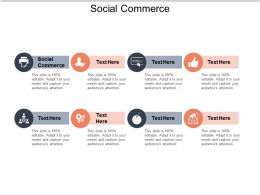 Social Commerce Ppt Powerpoint Presentation Icon Structure Cpb
