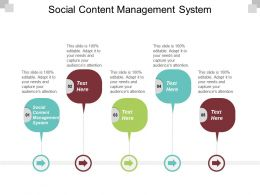 Social Content Management System Ppt Powerpoint Presentation Gallery File Formats Cpb
