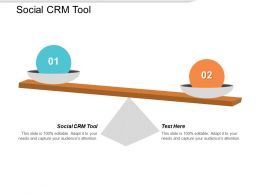 Social CRM Tool Ppt Powerpoint Presentation Show Cpb