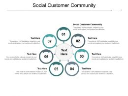 Social Customer Community Ppt Powerpoint Presentation File Designs Download Cpb