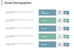 Social Demographics Ppt Powerpoint Presentation Ideas Graphics Cpb