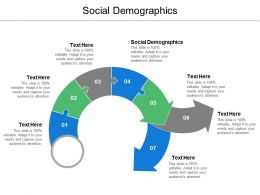 Social Demographics Ppt Powerpoint Presentation Ideas Slide Download Cpb