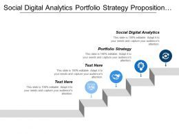 Social Digital Analytics Portfolio Strategy Proposition Positioning Targeting Strategy