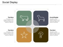 Social Display Ppt Powerpoint Presentation Infographics Slides Cpb