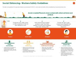 Social Distancing Workers Safety Guidelines Wash Often Ppt Powerpoint Presentation Icon Vector