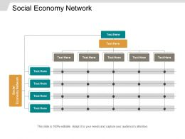 Social Economy Network Ppt Powerpoint Presentation Inspiration Pictures Cpb