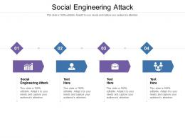 Social Engineering Attack Ppt Powerpoint Presentation Infographics Ideas Cpb
