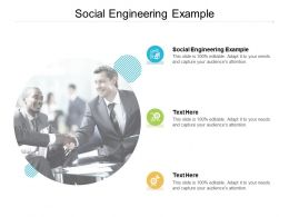 Social Engineering Example Ppt Powerpoint Presentation Ideas Cpb