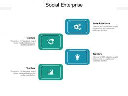 Social Enterprise Ppt Powerpoint Presentation Summary Influencers Cpb