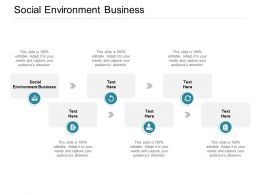 Social Environment Business Ppt Powerpoint Presentation Pictures Layout Cpb
